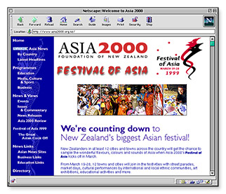 Asia2000 - homepage