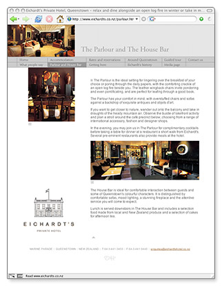 Eichardt's - homepage