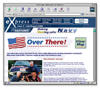 Express Online - homepage