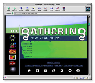 The Gathering - splash screen
