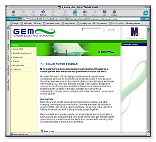 M-co GEM - homepage